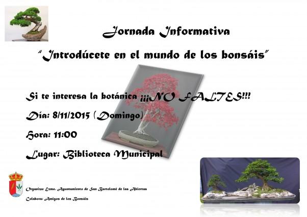 Jornada Informativa bonsais