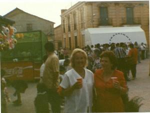 Encarna Martinez 45 años en las Fiestas de San Bartolome de las Abiertas
