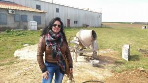 Yolanda Blanco 39 años en un cachito de San Bartolome de las abiertas